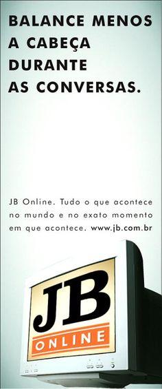 JB on-line | Jornal do Brasil | Print | F/Nazca Saatchi & Saatchi