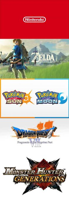 #E3 2016 #Nintendo right to the point recap! #Zelda #Pokemon # MonsterHunter #MarioParty #DragonQuest http://www.levelgamingground.com/nintendo-e3-2016.html