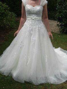 Robe de mariée Miss Kelly fabrication française d'occasion