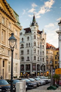 The Goldenes Quartier house near famous Graben street in Innere Stadt district of Vienna (Wien), capital of Austria Viking Ocean Cruise, Viking River, Heart Of Europe, European Tour, Vienna Austria, Most Beautiful Cities, Far Away, To Go, Wanderlust