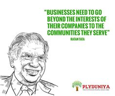 Golden words by Sir Ratan Tata. He is a great inspiration to all entrepreneurs.  #ratantata #goldenwords #quote #business #bangalore #inspiration - http://ift.tt/1HQJd81