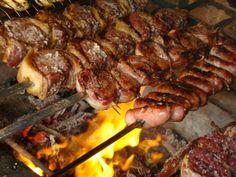 Pratos típicos do Brasil - Churrasco
