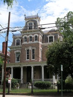 Gothic House by F33, via Flickr Sycamore St, Petersburg VA
