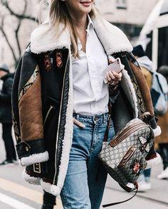 """MILAN Street Style on @voguespain #mfw #anastasiiamasiutkina"""
