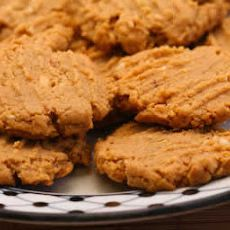 Flourless, Sugar-Free Peanut Butter Cookies Recipe