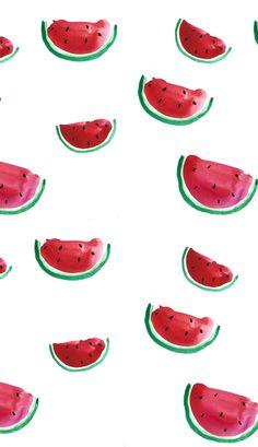 Iphone Wallpaper - S Summer Wallpaper, More Wallpaper, Screen Wallpaper, Pattern Wallpaper, Iphone Background Wallpaper, Aesthetic Iphone Wallpaper, Aesthetic Wallpapers, Watermelon Drawing, Watermelon Wallpaper