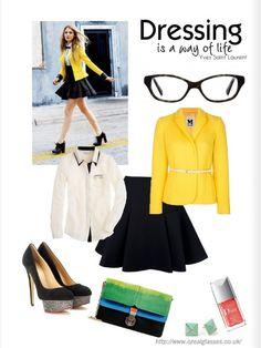 dressing is a way of life #eyewear #eyeglasses #womensfashion @Bec N. Wilkinson Palmer