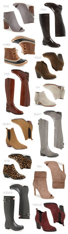 Fall Boots Must Haves