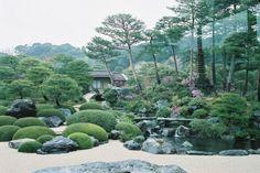 Самый красивый и лучший сад Японии (38 фото)