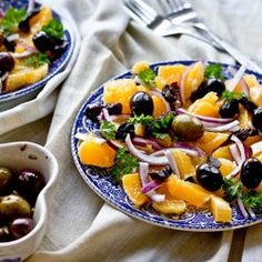 Oranges and Onions salad.