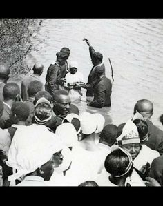African American Baptism, Memphis 1933