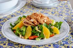 Chinese chicken salad from Cooks Country.