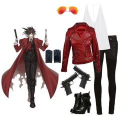 Designer Clothes, Shoes & Bags for Women Casual Cosplay, Cosplay Outfits, Sexy Outfits, Cool Outfits, Female Outfits, Cosplay Ideas, Alucard Cosplay, Riverdale Fashion, Anime Inspired Outfits