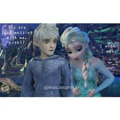 Elsa pregnant with Jack's baby! Ice babies!