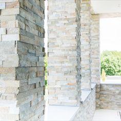 Architecture: Boxxis Architecten Photography: Buonq #Flagstonecompany #Naturalstones #Stonestrips #Home #Exterior #Villa #House #Facade #Facadedesign #Homedesign #Exteriordesign #Villadesign #Housedesign #Homeinspiration #Villainspiration #Walldecoration #Stonewall #Homedecoration #Housedecoration #Modernhome #Luxury #Architecture #Natuurstenen #Steenstrips #Exterieur #Wooninspiratie #Exterieurinspiratie #Landhuis #Wandbekleding #Stenenmuur #Gevel #Gevelstenen #Architect #Huisinspiratie Dream Houses, Home Design, Contemporary Design, Furniture Design, Homes, Modern, Ideas, Dream Homes, Houses