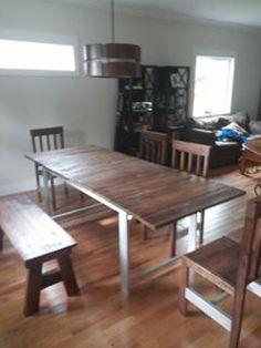 Custom Reclaimed Barn Wood Dining Table