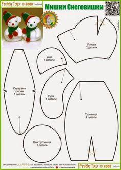 molde-urso-natalino.jpg (567×800)