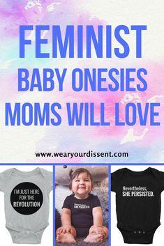 #Feminist Baby Onesi