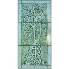 Celtic tiles ❤ liked on Polyvore featuring home, home decor, tiles, ceramic home decor, handmade home decor, floral home decor and bird home decor