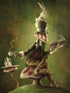 Alice: «È impossibile...» Il Cappellaio Matto: «Solo se pensi che lo sia.» Alice: «This is impossible...» Mad Hatter: «Only if you believe it is.» (Lewis Carrol)