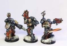 Lovely conversion on these vets. The red is so smooth.