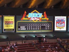 st. louis cardinals scoreboard - Google Search