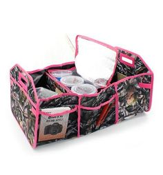 Camo Natural Pink Personalized Trunk Utility Bag with Insulated Cooler  Free Personalization etsy.com/shop/threelittlechickadee