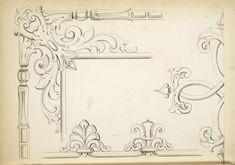 1840 - Arrowsmith, Henry William / The house decorator and painter's guide; containing a series of designs for decorating apartments, suited to the various styles of architecture]