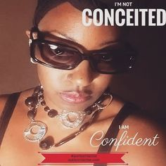 Be CONFIDENT in who you are and who you are becoming.  People who tell you that you are conceited are really insecure about themselves.  Encourage them instead of letting their negative vibes overtake you. It will not only shock them but the look on their face will be priceless.   #Love #AuthorClarine #fashion #style #stylish #love #me #cute #photooftheday #nails #hair #beauty #beautiful #instagood #pretty #swag  #girl #girls #eyes #design #model #dress #shoes #heels #styles #outfit #purse…