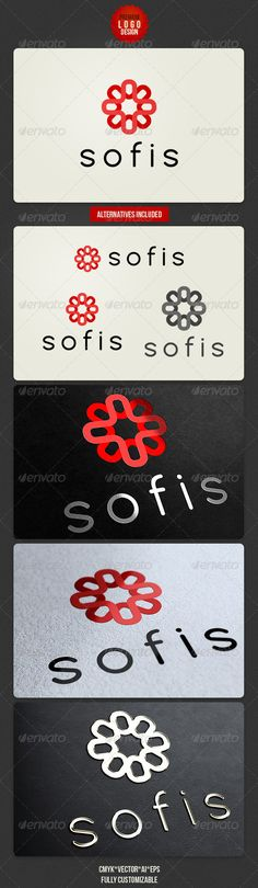 Sofis Clean Logo Design