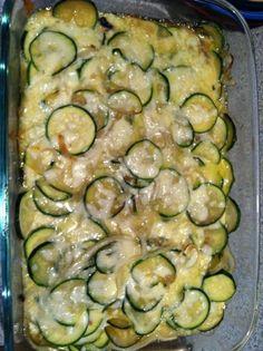 Really really delicious zucchini casserole recipe!