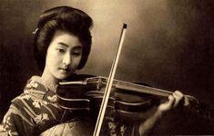 Geisha Hawaryu. Meiji-era.