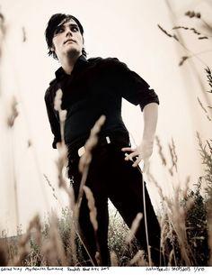 Gerard Way, Warped Tour 2005 (Justin Borucki)