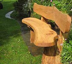 Садовые скамейки, изготовленные дачниками