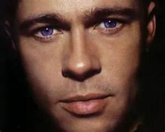 Brad Pitt - A dazzling actor!! Have you seen him in 12 Monkeys? Scarily good. I love anyone who works with that much commitment and passion!