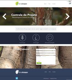 #website Seu site com um layout exclusivo e conteúdo gerenciável. Confira as vantagens dessa tecnologia acessando: www.esgpropaganda.com.br Cliente: http://terraamazon.org/