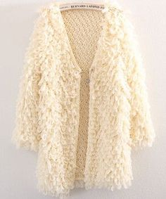 Edgension European Brand Loop Yarns Long Cardigan Coat Women New 2017 Spring Fashion Ladies' Elegant Crocheted Sweater