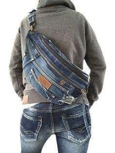 Voorzien GSTAR RAW denim crossbody-bag schoudertas