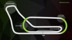 The old Monza circuit layout, featuring the famous banked oval © FOWC…