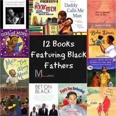 Here are 12 books featuring Black fathers for all ages.
