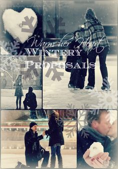 We're in love with these fun #winter #proposal ideas.  This blog actually gives you ten (10) unique proposal ideas so you can win no matter the season!