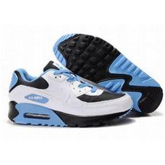 premium selection d576a f4842 Ken Griffey Shoes Nike Air Max 90 White Sky Blue Black  Nike Air Max 90 -  The majority of people will draw attention to you if you wear a pair of  cool ...