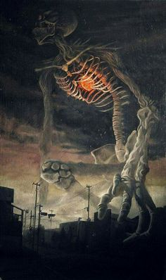 Gashadokuro  In Japanese mythology, the Gashadokuro (or Gasha-dokuro) is a spectrum of titanic proportions that manifests itself as a gigantic skeleton that roams the countryside during the darkest nights
