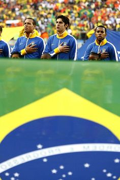 Brazil national football team: Rivaldo, Kaka, Robino