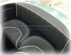 BN4 (L) & BT7 - Rear Seat Covers - Dark Blue - Leatherfaced