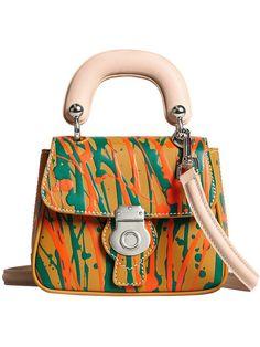 Shop Burberry mini DK88 top handle bag
