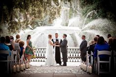 Take advantage of everything your chosen destination has to offer, like this historic fountain in Savannah. Photo courtesy of Diana Daley Photography