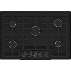 """10. Bosch NGM8065UC 800 30"""" Gas Sealed Burner Cooktop (Black) Minimal Kitchen, Gas Stove Top, Black Stainless Steel, Home Depot, Oven, Kitchen Dining, Kitchen Appliances, Cooking, Wearable Technology"""