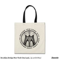 Brooklyn Bridge New-York City Landmark Custom Text