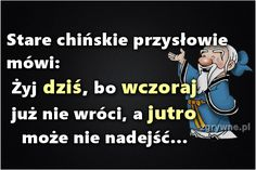 Polish Language, Weekend Humor, Cute Images, Motto, Quotations, Texts, Haha, Mindfulness, Good Things